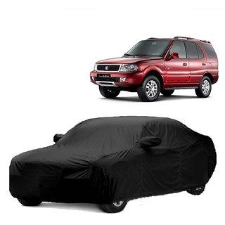 RoadPluS Water Resistant  Car Cover For Maruti Suzuki Swift Dzire (Black With Mirror )