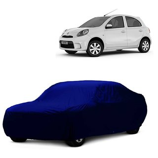 SpeedRo Water Resistant  Car Cover For Volkswagen Passat (Blue Without Mirror )