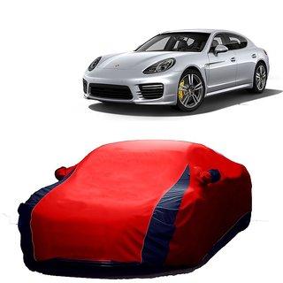SpeedRo Water Resistant  Car Cover For Mahindra Reva (Designer Red  Blue )
