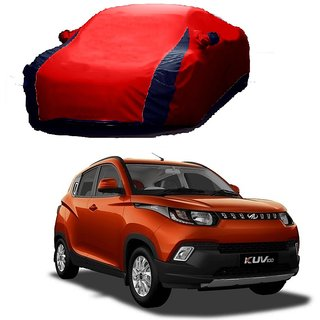 SpeedRo Water Resistant  Car Cover For Mahindra XYLO (Designer Red  Blue )