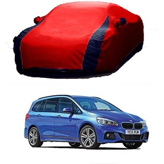 SpeedRo Water Resistant  Car Cover For Maruti Suzuki Zen Estilo (Designer Red  Blue )
