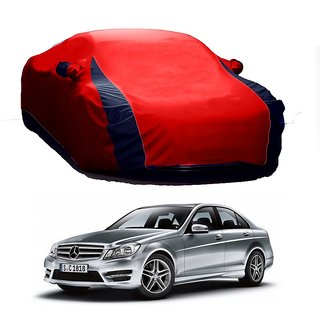 SpeedRo Water Resistant  Car Cover For Volkswagen Beetle (Designer Red  Blue )