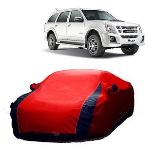 Bull Rider Car Cover For Fiat Panda (Designer Red  Blue )