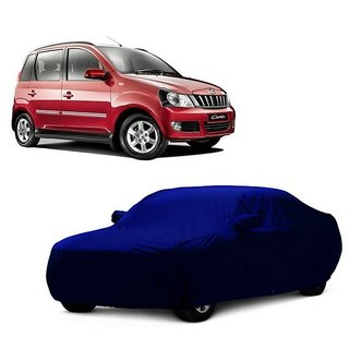 DrivingAID All Weather  Car Cover For Maruti Suzuki Gypsy MG-410 (Blue With Mirror )