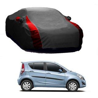 SpeedRo Water Resistant  Car Cover For Mahindra Scorpio 2015 (Designer Grey  Red )