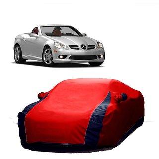 SpeedRo Water Resistant  Car Cover For Skoda Superb (Designer Red  Blue )