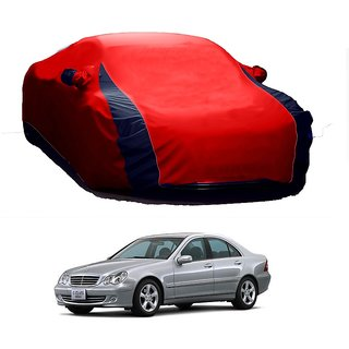 SpeedRo Water Resistant  Car Cover For Mercedes Benz Benz A (Designer Red  Blue )
