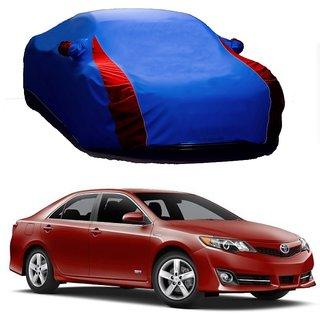 SpeedRo Water Resistant  Car Cover For Mahindra Bolero (Designer Blue  Red )