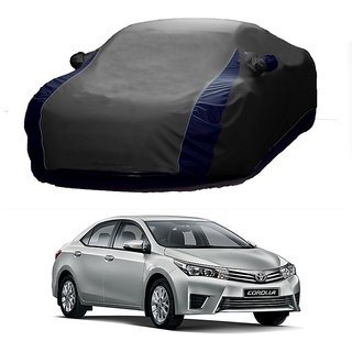 DrivingAID All Weather  Car Cover For Mercedes Benz Cdi (Designer Grey  Blue )
