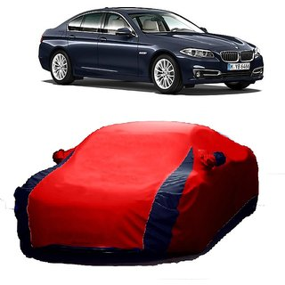 RoadPluS Water Resistant  Car Cover For BMW 1 Series (Designer Red  Blue )
