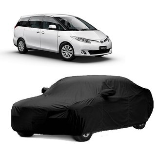 SpeedRo Water Resistant  Car Cover For Audi S3 (Black With Mirror )