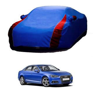 SpeedRo Water Resistant  Car Cover For Mercedes Benz A180 (Designer Blue  Red )