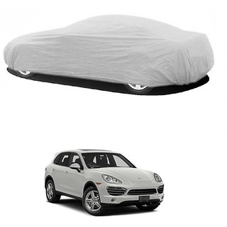 SpeedGlorY Water Resistant  Car Cover For Mahindra Bolero XL (Silver Without Mirror )