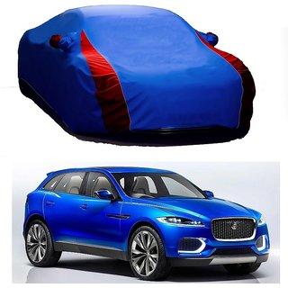 SpeedRo Water Resistant  Car Cover For Maruti Suzuki Esteem (Designer Blue  Red )
