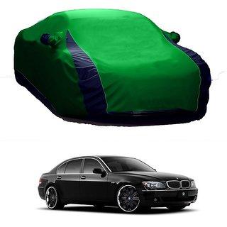 SpeedRo Water Resistant  Car Cover For Mahindra 300 (Designer Green  Blue )