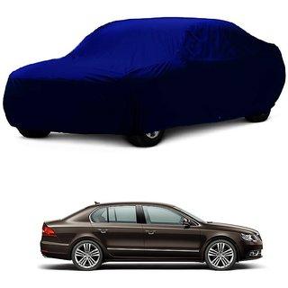 SpeedRo Water Resistant  Car Cover For Maruti Suzuki WagonR (Blue Without Mirror )