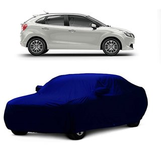 SpeedGlorY Water Resistant  Car Cover For Mercedes Benz B Class (Blue With Mirror )