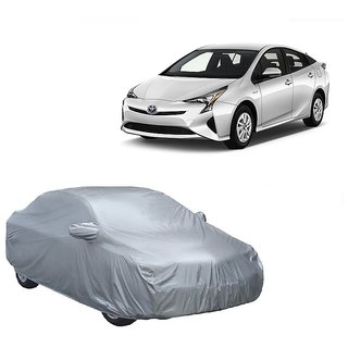 SpeedRo Water Resistant  Car Cover For Audi S4 (Silver With Mirror )