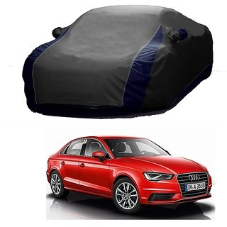 SpeedRo Water Resistant  Car Cover For Maruti Suzuki A-Star (Designer Grey  Blue )