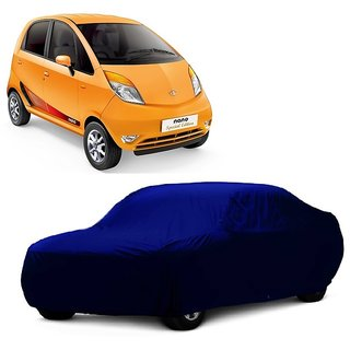 SpeedRo Water Resistant  Car Cover For Fiat Punto Evo (Blue Without Mirror )