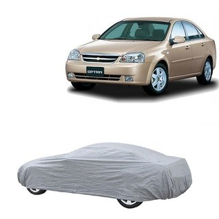 Bull Rider Water Resistant  Car Cover For Skoda Rapid (Silver Without Mirror )