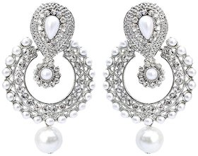 Angel In You Exclusive White  Earring   H-559