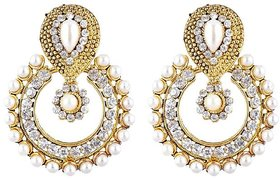 Angel In You Exclusive Golden White  Earring   H-560