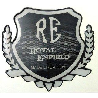 Ruberied Waterproof RE Made like gun Bike sticker decal For bullet