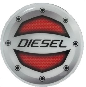 Reflective Red(D) Car Fuel Lid Decal /Sticker Rubber printed(10cm)