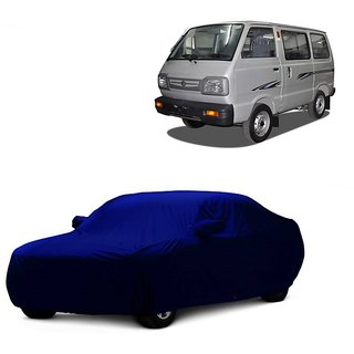 DrivingAID All Weather  Car Cover For Renault Lodgy (Blue With Mirror )