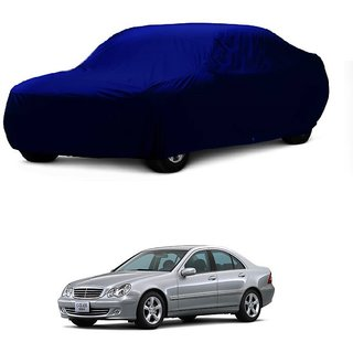 MotRoX UV Resistant Car Cover For Mercedes Benz Benz S 300 (Blue Without Mirror )