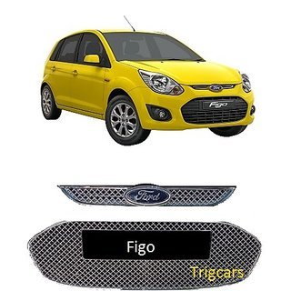 Buy Trigcars Ford Figo Old Car Front Grill Chrome Plated 2pcs Online