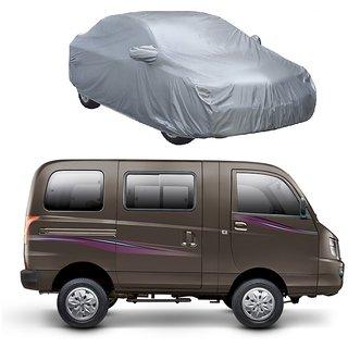 AutoBurn Water Resistant  Car Cover For Maruti Suzuki Zen Estilo (Silver With Mirror )