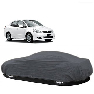 MotRoX UV Resistant Car Cover For Maruti Suzuki Swift Old (Grey Without Mirror )