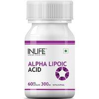 INLIFE Alpha Lipoic Acid 300 Mg (60 Vegetarian Capsules