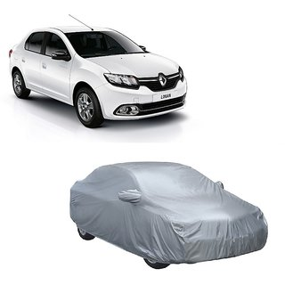 DrivingAID All Weather  Car Cover For Nissan Micra (Silver With Mirror )