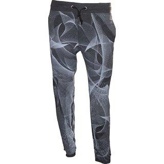 Fashion Self Design Printed Regular Fit Cotton Track Pant,