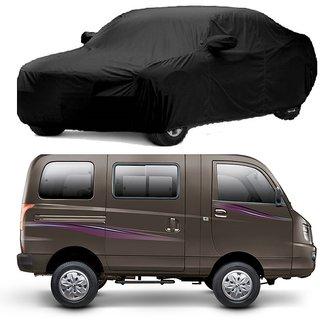 AutoBurn Water Resistant  Car Cover For Maruti Suzuki Zen Estilo (Black With Mirror )