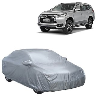 DrivingAID Car Cover For Audi Q3 (Silver With Mirror )