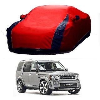 AutoBurn UV Resistant Car Cover For Toyota Corolla (Designer Red  Blue )