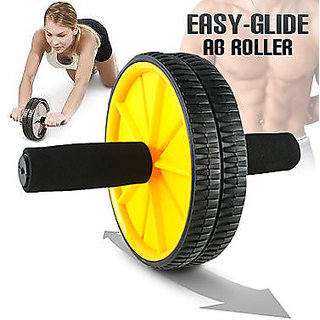 Have one to sell Sell it yourself Details about Exercise Ab Wheel Roller Ab R