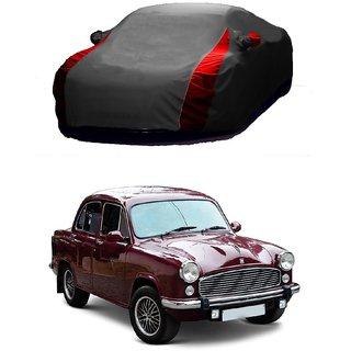 MotRoX UV Resistant Car Cover For Mitsubishi CEDIA (Designer Grey  Red )