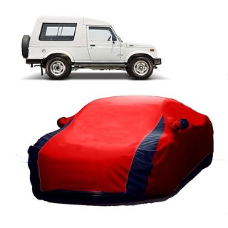 Bull Rider All Weather  Car Cover For BMW I8 (Designer Red  Blue )