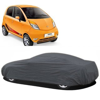 AutoBurn Water Resistant  Car Cover For Mahindra Quanto (Grey Without Mirror )