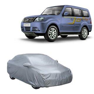 SpeedRo Water Resistant  Car Cover For Maruti Suzuki Wagon R (Silver With Mirror )