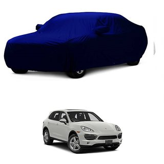 SpeedRo Water Resistant  Car Cover For BMW Alpina B7 (Blue With Mirror )