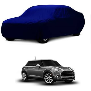 SpeedGlorY Water Resistant  Car Cover For Toyota Camry (Blue Without Mirror )