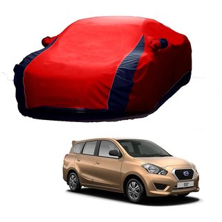 MotRoX UV Resistant Car Cover For Maruti Suzuki Gypsy (Designer Red  Blue )