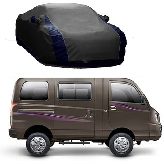Bull Rider Car Cover For Mahindra XYLO (Designer Grey  Blue )