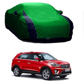 SpeedRo Water Resistant  Car Cover For Mercedes Benz Cdi (Designer Green  Blue )